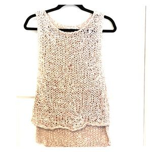 Zara knit sleeveless top